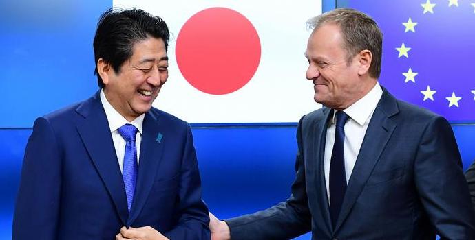 همکاری ژاپن و اتحادیه اورپا